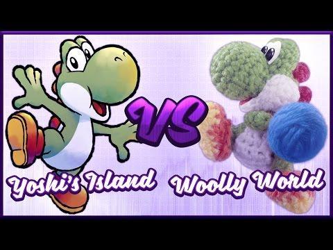 Yoshi's Island vs. Yoshi's Woolly World