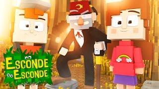 Minecraft: GRAVITY FALLS! (Esconde-Esconde)