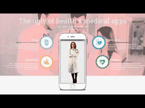 Animated Medical And Healthcare Presentation Simple Slideshow - After Effects Royalty Free Template