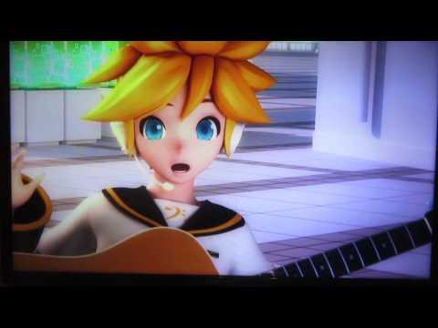 Тема для PS3, запуск и опенинг игры Hatsune Miku: Project DIVA F