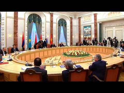 Подписан договор о присоединении Армении к ЕАЭС