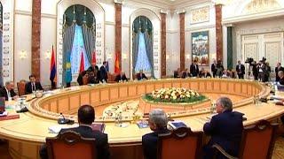 Подписан договор о присоединении Армении к ЕАЭС(Главы государств подписали сегодня договор о присоединении Армении к договору о Евразийском экономическо..., 2014-10-10T18:09:38.000Z)