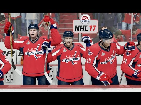 Nhl 17 Xbox One Blackhawks Vs Capitals Gameplay Stanley Cup Finals