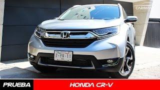 Honda CR V 2017 a prueba - CarManía