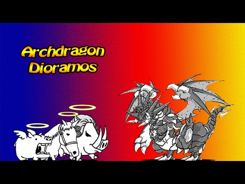 The Battle Cats - Have You Ever Used Dioramos in Any Battle?