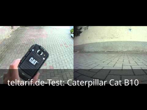 Test: Outdoor-Dual-SIM-Smartphone Caterpillar Cat B10