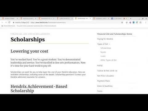 Hendrix College Profile