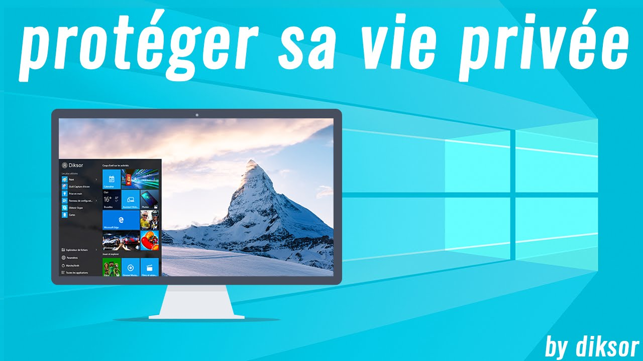 comment proteger son pc windows 10