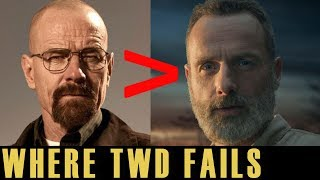 How The Walking Dead FAILS Where Breaking Bad SUCCEEDS Explained