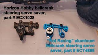 RPM Servo Saver Eliminator Bellcrank for ECX Boost 2wd Circuit 2wd Ru73492