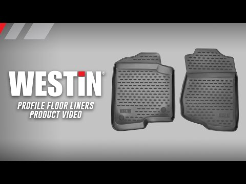 Westin Profile Floor Liners Product Features