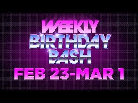 Celebrity Actor Birthdays - February 23 - March 1, 2014 HD