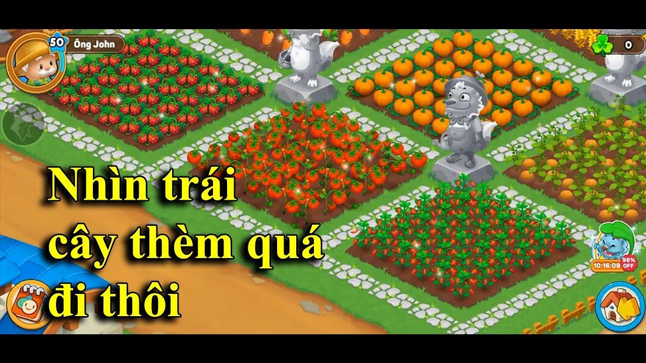 Farmery | Chơi một tựa game nông trại mới hơi giống game Hayday một tí