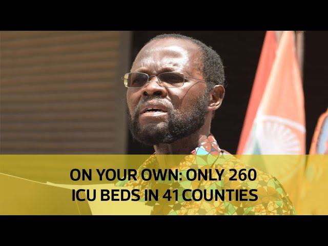 On your own: Only 260 ICU beds in 41 counties