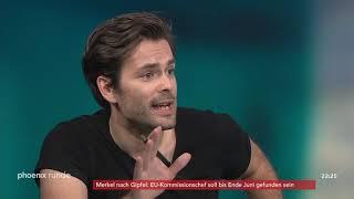 """phoenix runde """"Nach dem Wahldebakel - CDU und SPD im Taumel?"""" vom 28.05.19"""