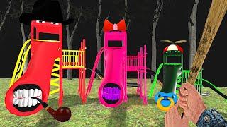МЫ НАШЛИ СЕМЬЯ ГОРКА ПОЖИРАТЕЛЬ В ГРЕННИ ОНЛАЙН - Granny Online Horror Game Extra Slide Family