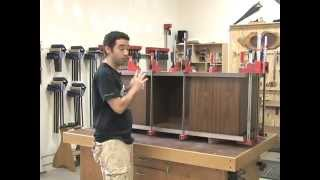 100 - How To Build A Low Profile Entertainment Center (part 4 Of 5)