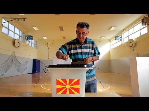 Polls open in landmark referendum on Macedonia's name
