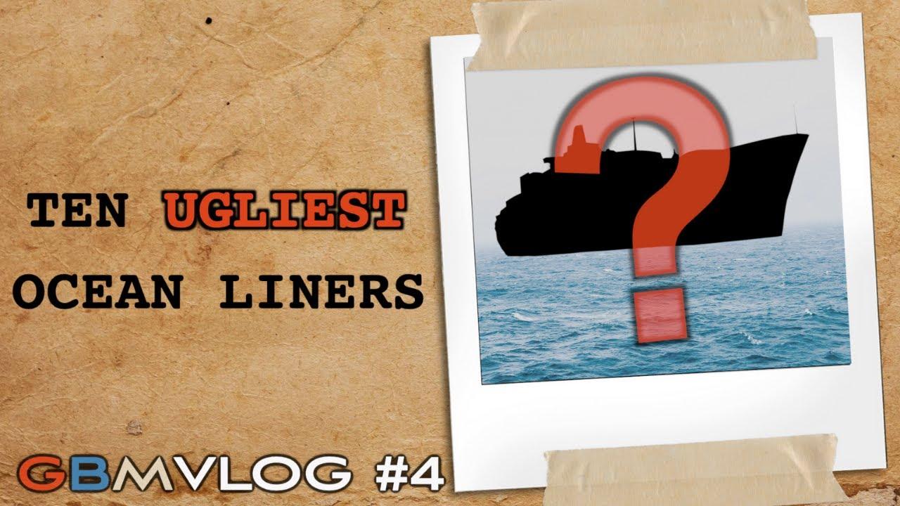 Top 10 Ugliest Ocean Liners