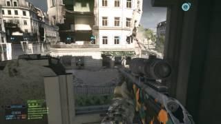 Battlefield 4 Sniping Gameplay