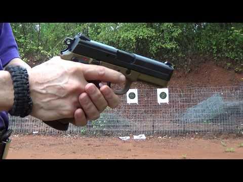 FNX-45 4.5 inch barrel Flat Dark Earth  15+ 1 shooting