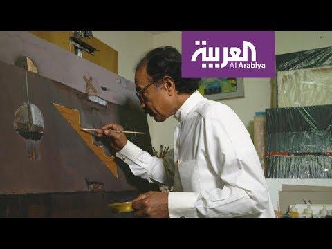 نشرة_الرابعة | عبدالرحمن السليمان قصة فن سعودي بملايين الريالات  - نشر قبل 3 ساعة