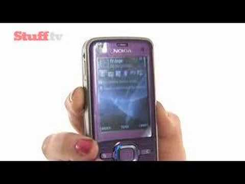 Nokia 6220 Classic video review from stuff.tv