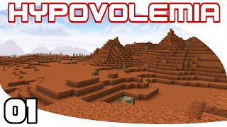 Hypovolemia - Ep. 1: Something Bloody | Hypovolemia Minecraft Modpack Let