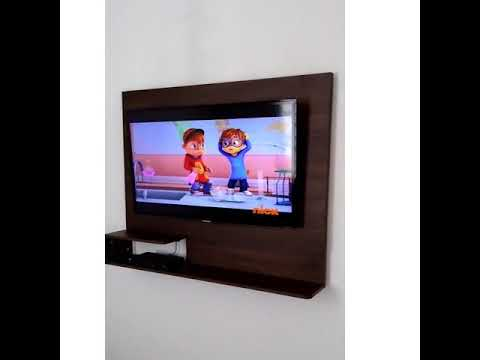 Mueble flotante para tv barcelona youtube Muebles flotantes para tv