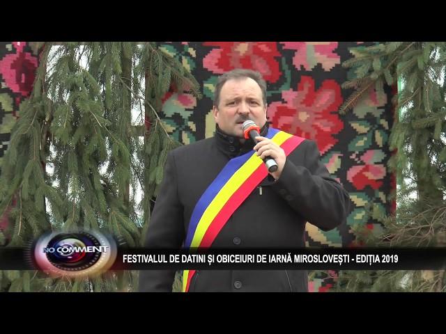 FESTIVALUL DE DATINI MIROSLOVESTI - EDITIA 2019