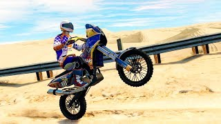 Bike Racing Games - Desert Trail Stunt Bike Rally #2 - Gameplay Android free games