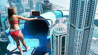 10 MOST INSANE Waterslides YOU WONT BELIEVE EXIST