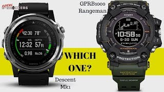 Which One Is Better? Garmin Descent Mk1 vs GPR Rangeman Comparison