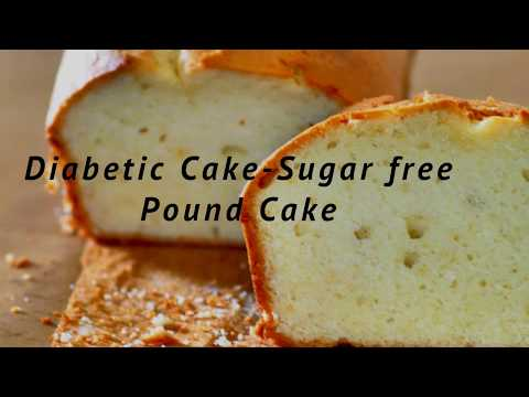 Diabetic Cake - Sugar Free Pound Cake - Weight Watchers Pound Cake