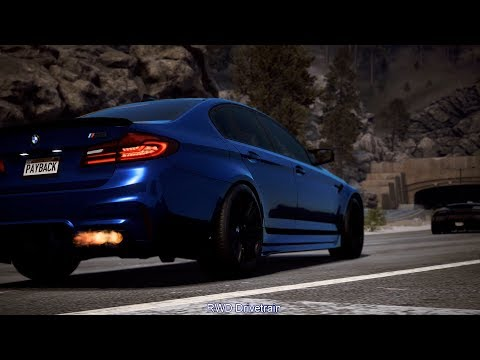 Need For Speed Payback - AWD or RWD Drivetrain Live Tuning? LV399 BMW M5 Race Spec