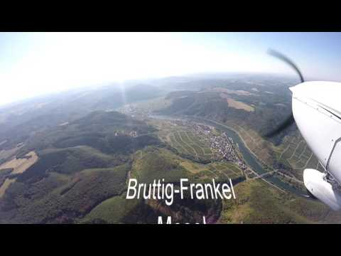 Flying trip from Bonn to Traben Trarbach