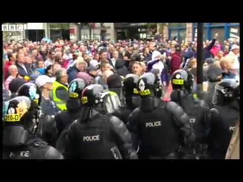 Belfast riots  56 police officers injured during parade protests
