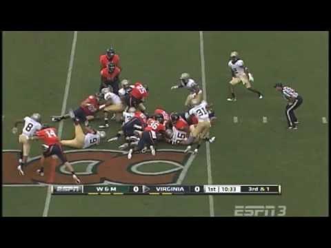 Tribe Football 2011: Complete Game Recap vs. UVA