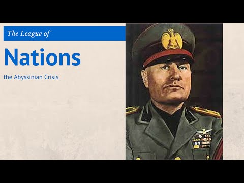 8: GCSE History - the Abyssinian Crisis 1935-36