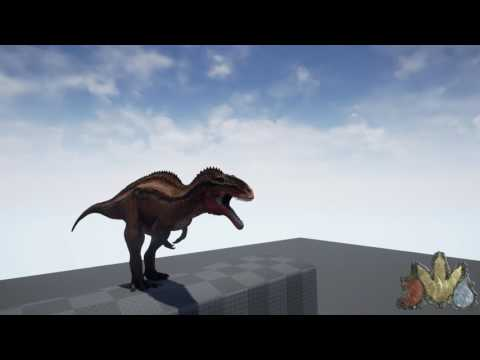The Isle Acrocanthosaurus sounds