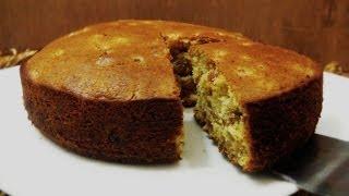 Christmas Fruit Cake Recipe - Plum Cake,  Eggless, Alcohol Free