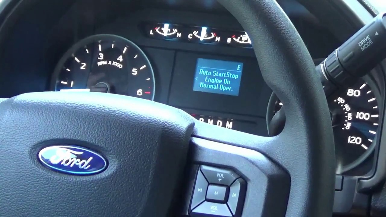 Ford F150 Expedition Disable Auto Start Stop Technology Remove The Feature Today F Ess