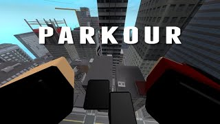 How to get the Invader's from Space badge In Roblox Parkour!