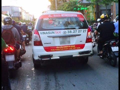 Taxi Vinasun bị tẩy chay vì cạnh tranh bẩn với Uber, Grab