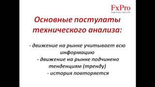 Урок 10 Основы технического анализа. Видео обучение Форекс. FxPro