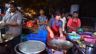 Manchurian | Street Food Cooking | China Town Part-4