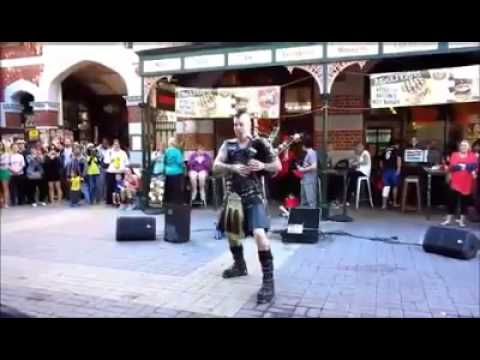 Because you'll never be as cool as a guy in a kilt playing Thunderstruck on flaming bagpipes...