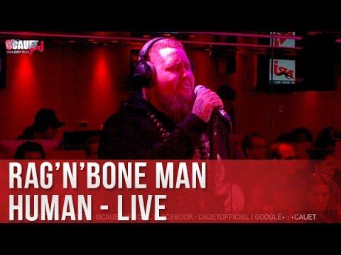 Rag'n'Bone Man - Human - Live - C'Cauet sur NRJ