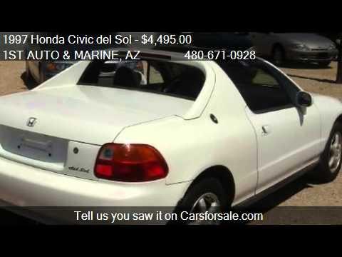 1997 Honda Civic del Sol Si 2dr Coupe for sale in Apache Jun