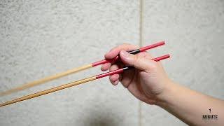 [1분꿀팁]올바른 젓가락 사용법 ! How to use Chopsticks